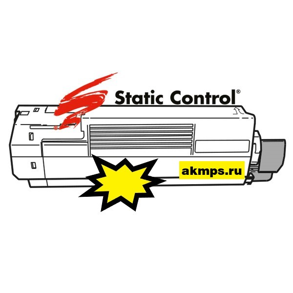 заправка картриджа OKI 45862849, MC853 (Static Сontrol)
